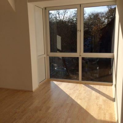 Fensterfront leeres Einzelzimmer der Demenzwohngruppe und Demenzwohngemeinschaft Datteln Castroperstr
