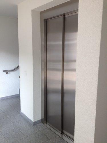 Aufzug in der Demenzwohngruppe und Demenzwohngemeinschaft Geslenkirchen Dillbrinkstr