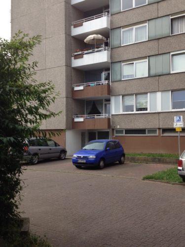 Parkplatz der Demenzwohngruppe und Demenzwohngemeinschaft Dortmund Speckstr