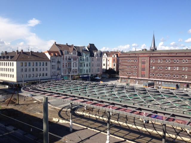 Stadzentrum Herne von Oben