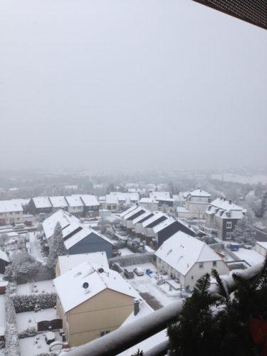 Ausblick vom Balkon der Demenzwohngruppe und Demenzwohngemeinschaft Wuppertal Sternenberg