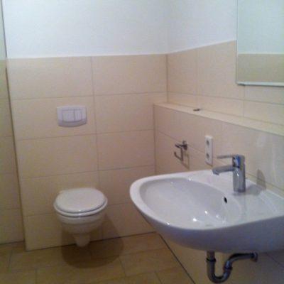 WC und Waschbecken in der Demenzwohngruppe und Demenzwohngemeinschaft Winterberg Bahnhofstr