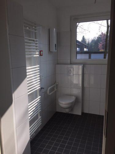 WC in der Demenzwohngruppe und Demenzwohngemeinschaft Gladbeck Hammerstr
