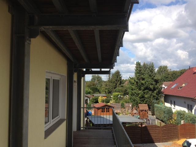Aussicht vom Balkon der Demenzwohngruppe und Demenzwohngemeinschaft Marl Roemerstr