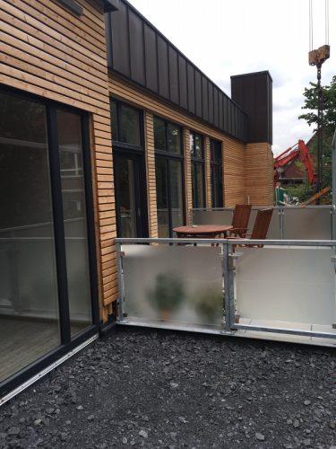 Balkon der Demenzwohngruppe und Demenzwohngemeinschaft Dorsten