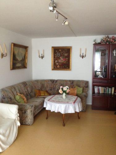 Wohnzimmer in der Demenzwohngruppe und Demenzwohngemeinschaft Wuppertal Sternenberg