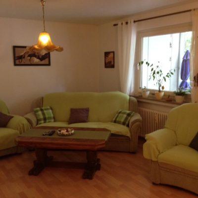 Wohnzimmer in der Demenzwohngruppe und Demenzwohngemeinschaft Dortmund Adalbertstr