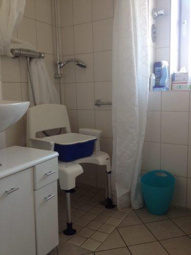Altengerechte Dusche in der Demenzwohngruppe und Demenzwohngemeinschaft Herne Am Buschmannshof