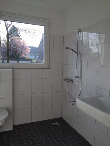 Dusche in der Demenzwohngruppe und Demenzwohngemeinschaft Gladbeck Hammerstr