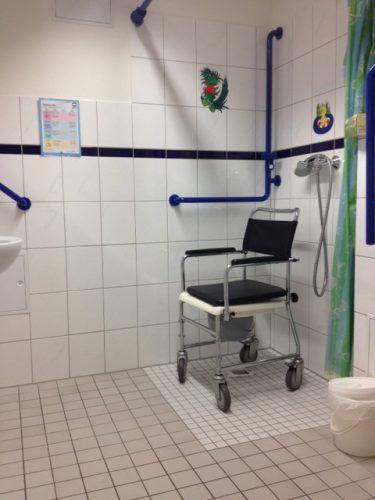 Altengerechte Dusche in der Demenzwohngruppe und Demenzwohngemeinschaft Hagen Elberfelderstr