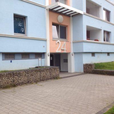 Eingang der Demenzwohngruppe und Demenzwohngemeinschaft Dortmund Spannstr