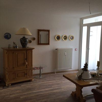 Wohnzimmer in der Demenzwohngruppe und Demenzwohngemeinschaft Gladbeck Hammerstr