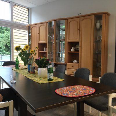 Wohnzimmer in der Demenzwohngruppe und Demenzwohngemeinschaft Dorsten