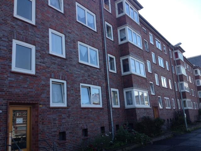 Ansicht Häuserfront der Demenzwohngruppe und Demenzwohngemeinschaft Herne Am Buschmannshof