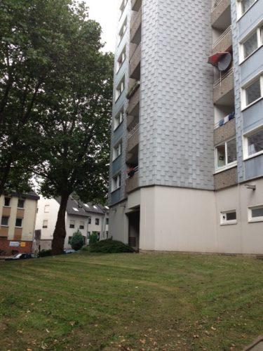 Hausfront der Demenzwohngruppe und Demenzwohngemeinschaft Dortmund Adalbertstr