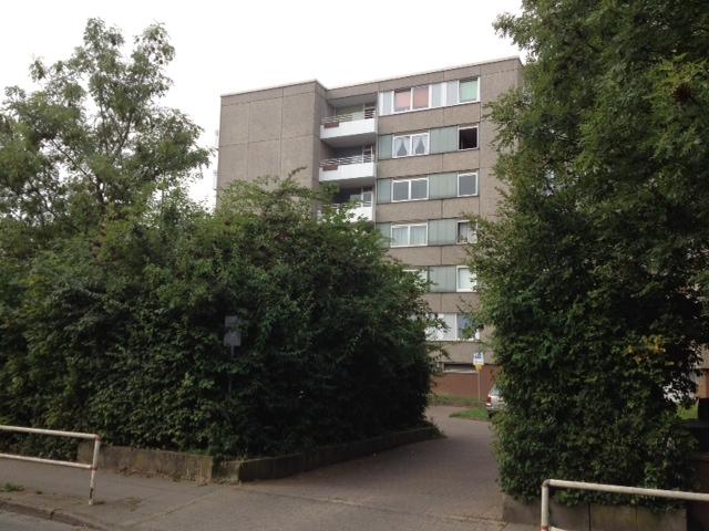 Ansicht Hausfront in der Demenzwohngruppe und Demenzwohngemeinschaft Dortmund Speckstr