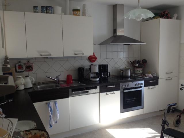 Küche in der Demenzwohngruppe und Demenzwohngemeinschaft Marl Roemerstr