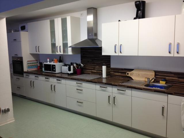 Küchenzeile in der Demenzwohngruppe und Demenzwohngemeinschaft Geslenkirchen Dillbrinkstr
