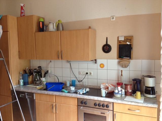 Küchenzeile in der Demenzwohngruppe und Demenzwohngemeinschaft Geslenkirchen Polsumerstr