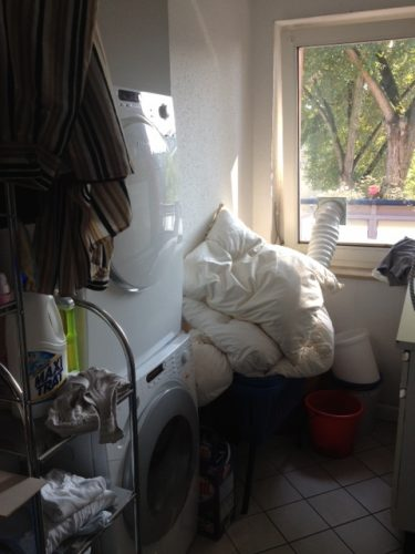 Waschraum in der Demenzwohngruppe und Demenzwohngemeinschaft Herne Am Buschmannshof