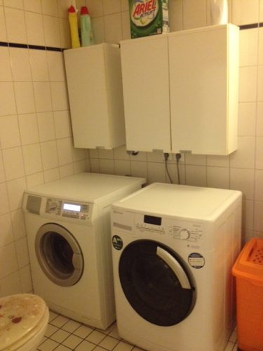 Waschmaschinen in der Demenzwohngruppe und Demenzwohngemeinschaft Dortmund Adalbertstr
