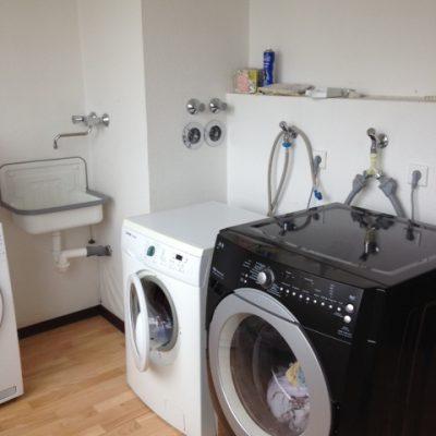 Waschmaschine in der Demenzwohngruppe und Demenzwohngemeinschaft Dortmund Speckstr