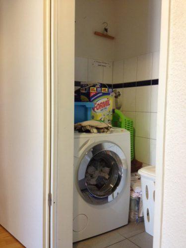 Waschmaschine in der Demenzwohngruppe und Demenzwohngemeinschaft Hagen Elberfelderstr