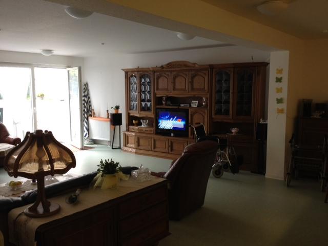 Wohnzimmer in der Demenzwohngruppe und Demenzwohngemeinschaft Geslenkirchen Dillbrinkstr