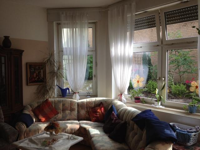 Wohnzimmer in der Demenzwohngruppe und Demenzwohngemeinschaft Geslenkirchen Polsumerstr