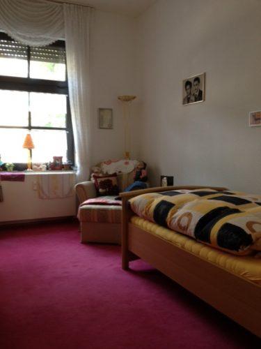 Einzelzimmer in der Demenzwohngruppe und Demenzwohngemeinschaft Geslenkirchen Polsumerstr