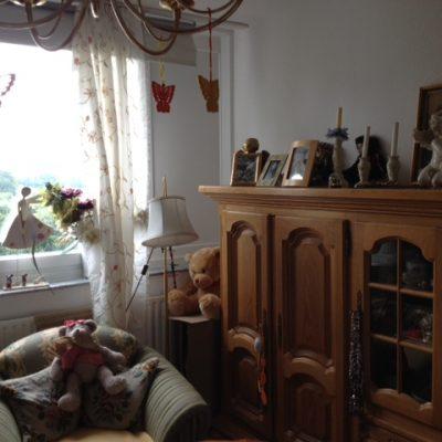 Einzelzimmer in der Demenzwohngruppe und Demenzwohngemeinschaft Dortmund Spannstr